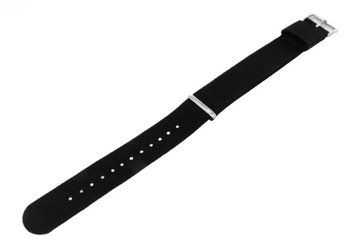 Black | Nylon NATO Style NATO Style Nylon Strap Barton Watch Bands