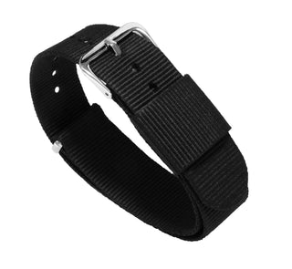Load image into Gallery viewer, Black | Nylon NATO Style - Barton Watch Bands