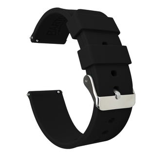 Load image into Gallery viewer, Black | Soft Silicone - Barton Watch Bands