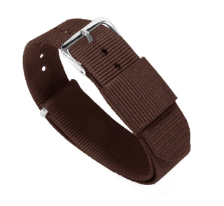 Load image into Gallery viewer, Chocolate Brown | Nylon NATO Style NATO Style Nylon Strap Barton Watch Bands
