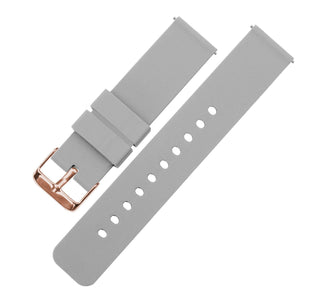 Load image into Gallery viewer, Cool Grey | Soft Silicone - Barton Watch Bands