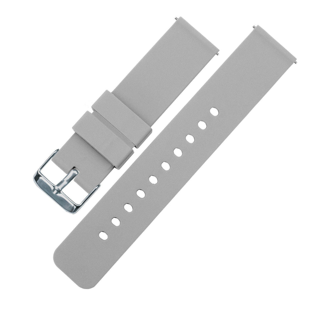 Cool Grey | Soft Silicone - Barton Watch Bands