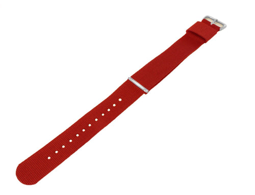 Crimson Red | Nylon NATO Style NATO Style Nylon Strap Barton Watch Bands