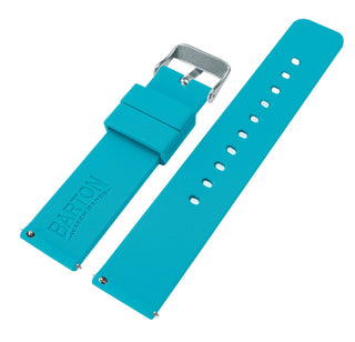 Load image into Gallery viewer, Fossil Gen 5 | Silicone | Aqua Blue Fossil Gen 5 Barton Watch Bands