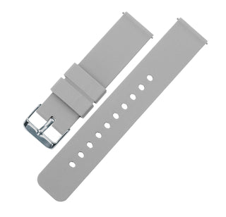 Load image into Gallery viewer, Fossil Gen 5 | Silicone | Cool Grey Fossil Gen 5 Barton Watch Bands