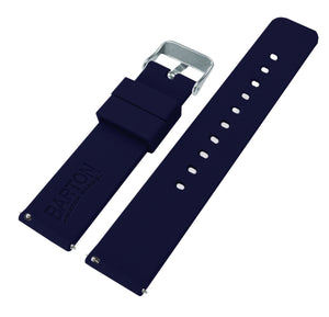 Fossil Gen 5 | Silicone | Navy Blue Fossil Gen 5 Barton Watch Bands