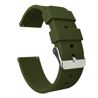 Load image into Gallery viewer, Fossil Sport | Silicone | Army Green Fossil Sport Barton Watch Bands