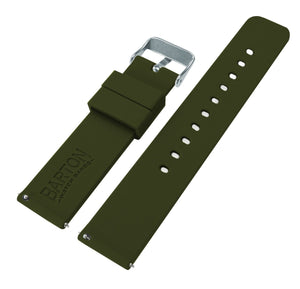 Fossil Sport | Silicone | Army Green Fossil Sport Barton Watch Bands