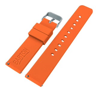 Load image into Gallery viewer, Fossil Sport | Silicone | Pumpkin Orange Fossil Sport Barton Watch Bands
