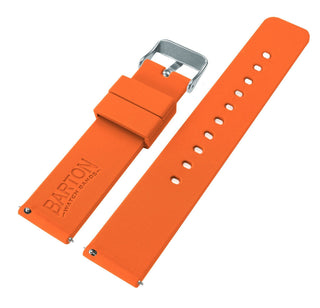 Load image into Gallery viewer, Gear S2 Classic | Silicone | Pumpkin Orange Gear S2 Classic Watch Band Barton Watch Bands