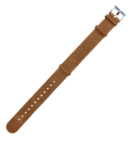 Gingerbread Brown | Leather NATO Style - Barton Watch Bands