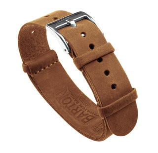 Load image into Gallery viewer, Gingerbread Brown | Leather NATO Style Leather NATO Style Barton Watch Bands