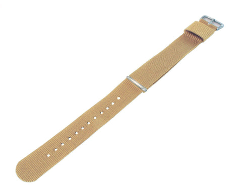 Khaki | Nylon NATO Style - Barton Watch Bands