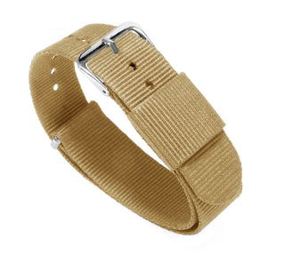Load image into Gallery viewer, Khaki | Nylon NATO Style NATO Style Nylon Strap Barton Watch Bands