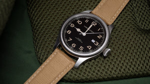 Khaki Tan | Sailcloth Quick Release - Barton Watch Bands