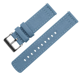 Load image into Gallery viewer, Mobvoi TicWatch | Nantucket Blue Canvas Mobvoi TicWatch Barton Watch Bands