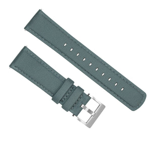 Mobvoi TicWatch | Sailcloth Quick Release | Slate Grey Mobvoi TicWatch Barton Watch Bands