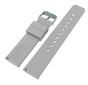 Mobvoi TicWatch | Silicone | Cool Grey Mobvoi TicWatch Barton Watch Bands