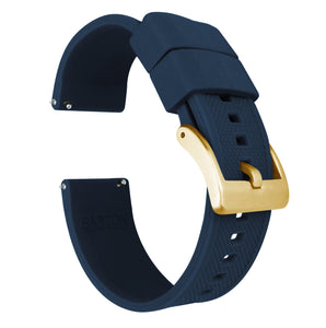 Navy Blue | Elite Silicone - Barton Watch Bands