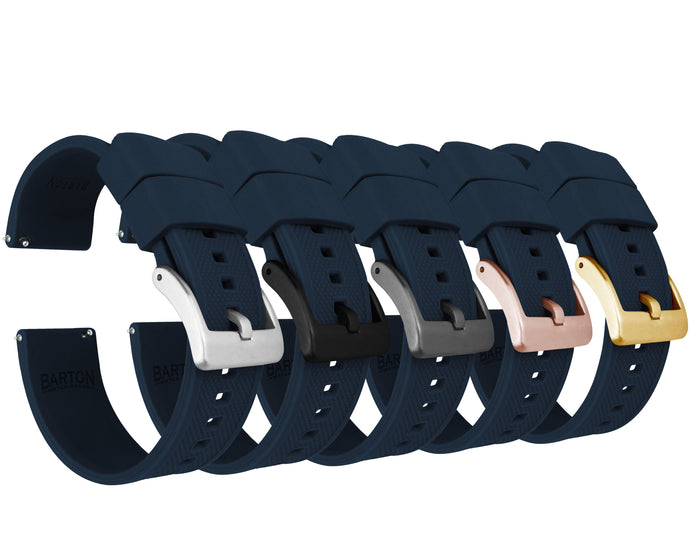 Navy Blue | Elite Silicone Elite Silicone Barton Watch Bands