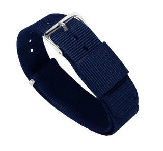 Load image into Gallery viewer, Navy Blue | Nylon NATO Style NATO Style Nylon Strap Barton Watch Bands