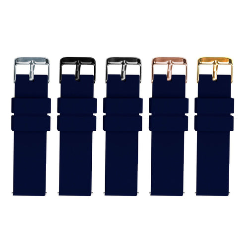 Navy Blue | Soft Silicone - Barton Watch Bands