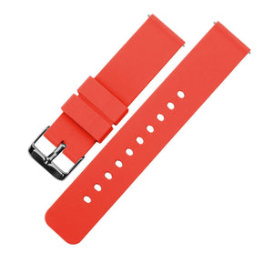 Roarange | Soft Silicone Quick Release Silicone Watch Band Barton Watch Bands 16mm Gunmetal Grey