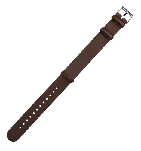 Saddle Brown | Leather NATO Style - Barton Watch Bands