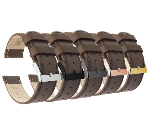 Saddle Leather | Saddle Stitching - Barton Watch Bands