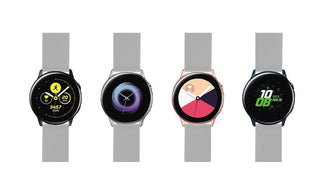 Load image into Gallery viewer, Samsung Galaxy Watch Active | Silicone | Cool Grey Samsung Galaxy Watch Active Barton Watch Bands
