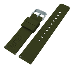 Samsung Galaxy Watch | Silicone | Army Green Samsung Galaxy Watch Barton Watch Bands