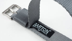 Steel Grey | Jetson NATO Style - Barton Watch Bands
