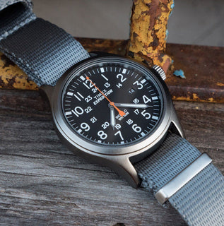 Load image into Gallery viewer, Steel Grey | Jetson NATO Style - Barton Watch Bands