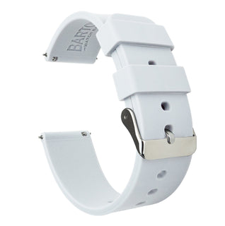Load image into Gallery viewer, White | Soft Silicone Quick Release Silicone Watch Band Barton Watch Bands