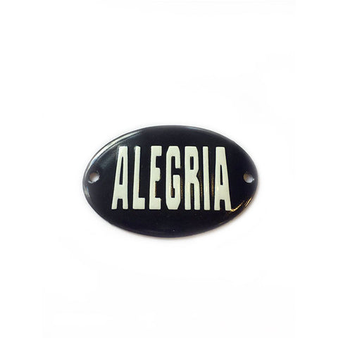 Mini Placa Alegria