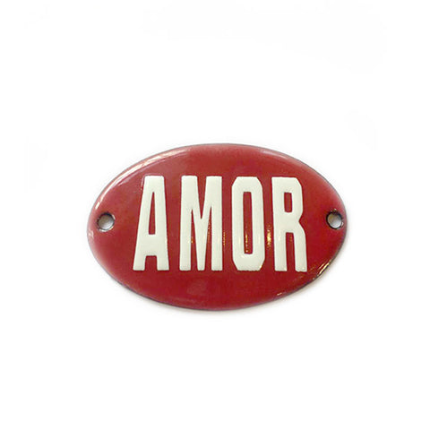 Mini Placa Decorativa Amor