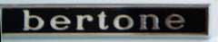"""Bertone""Badge"