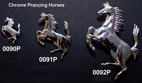 Prancing Horse Badge