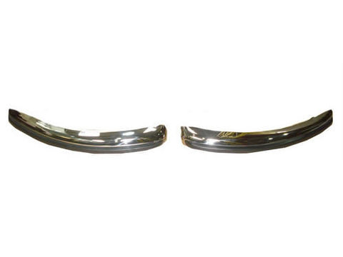 Stainless Steel Front Bumper Set