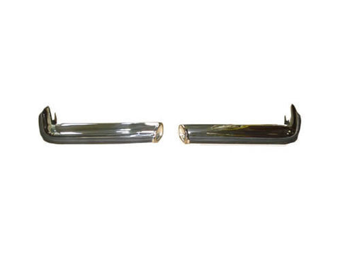 Stainless Steel Rear Bumper Set