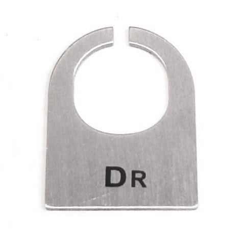 Dashboard Toggle Switch Label 'Dr'