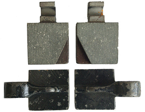 Handbrake Pads, set of 4
