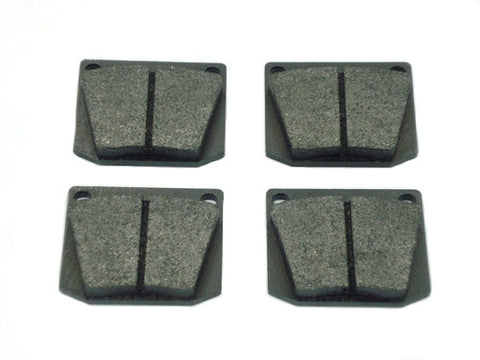 Rear Brake Pads, set of 4