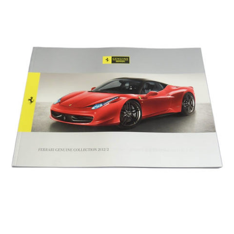 2012 Ferrari Genuine Accessories Brochure