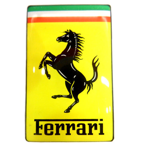 Small Ferrari Nose Badge Sticker?