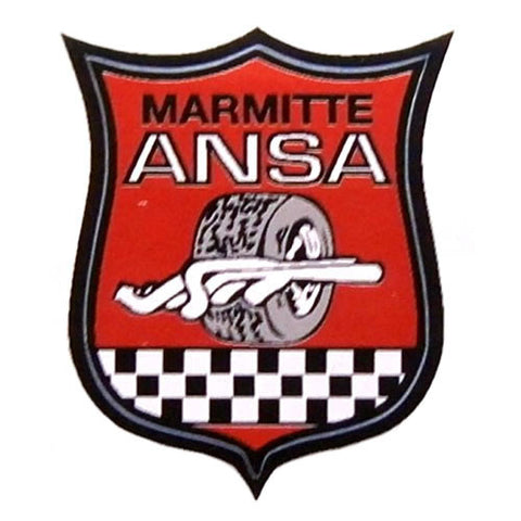 ANSA Exhaust Sticker