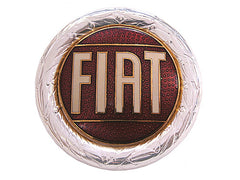 """FIAT"" Enamel Badge"