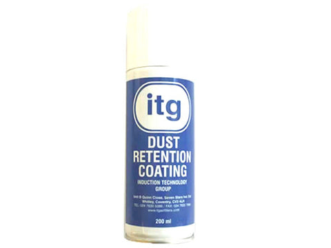 Dust  Retention Coating Aerosol for Filters