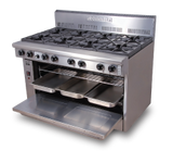 "2 Burner Gas Range with 36"" Griddle"