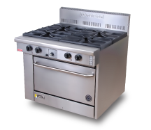 800 Series Cuisine Range CS-4-28 - GAS
